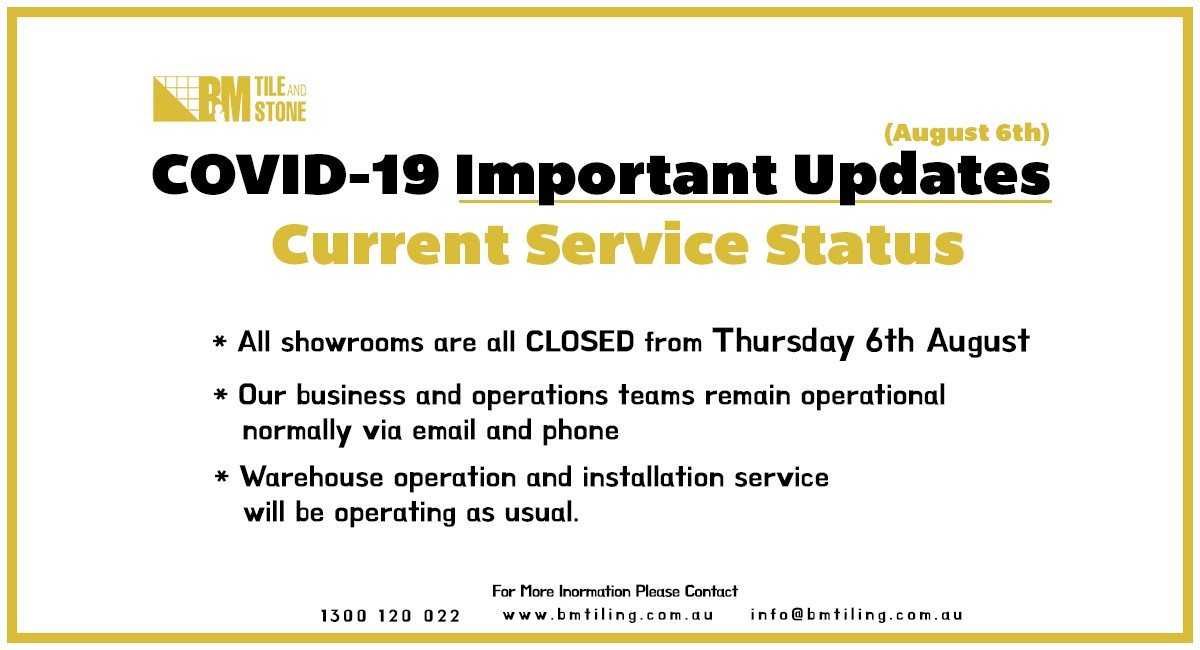COVID-19 Important Update (6th August)