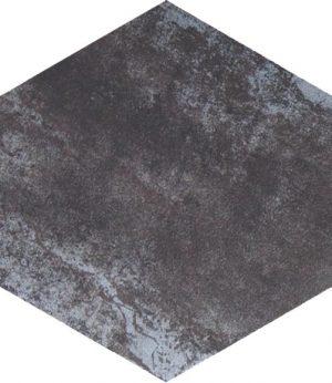 METALLIC SILVER HEXAGON 300X260